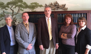 Photo of Richard Gage and his associates